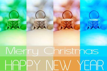 Christmas greeting - print and post photo