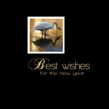 Best wishes greeting card - print and post Stock Photo - 5841468