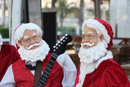 Santa Claus and friends as an orchestra Stock Photo - 6054308