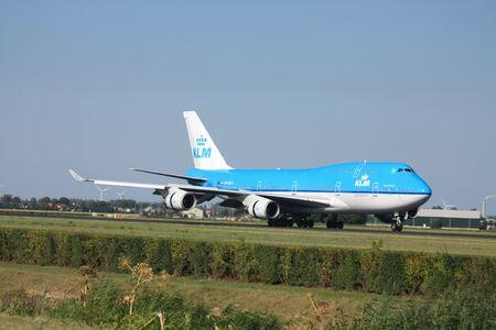 schiphol: 30-07-2010 Amsterdam Airport Schiphol, PH-BFO KLM Royal Dutch Airlines Boeing 747-406