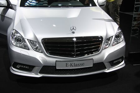 April, 22nd 2011 Amsterdam, the Netherlands. Amsterdam Rai Carshow Mercedes E- series Stock Photo - 9386611