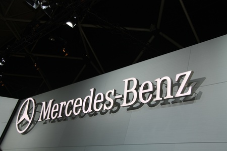 April, 22nd 2011 Amsterdam, the Netherlands. Amsterdam Rai Carshow Mercedes Stand