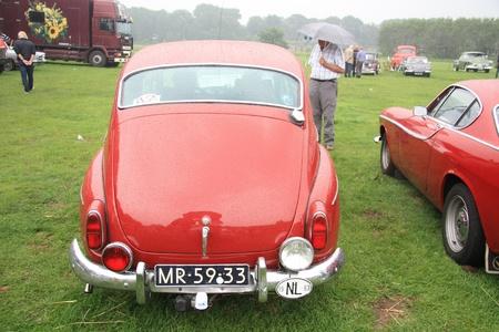noord: August 6th, 2011 Oldtimershow Santpoort Noord, the Netherlands 1963 Volvo PV 544