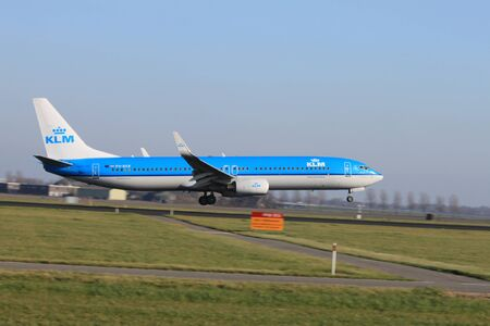 schiphol: October, 22nd 2011, Amsterdam Schiphol Airport - PH-BXR - KLM Royal Dutch Airlines - Boeing 737-9