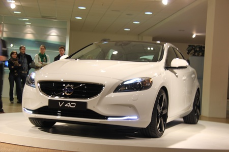 March 31st, Beesd the Netherlands Presentation of new Volvo V40, introduction of latest Volvo model