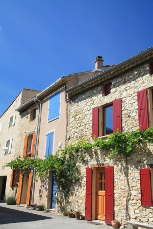 Old houses in the french region Provence photo