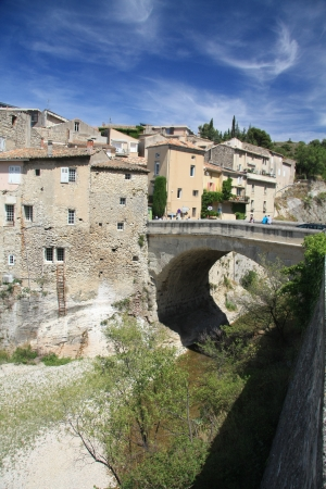 vaucluse: Vaison la Romaine, City in the Vaucluse, France Stock Photo