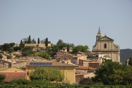 The village of Bedoin in the Provence, France photo
