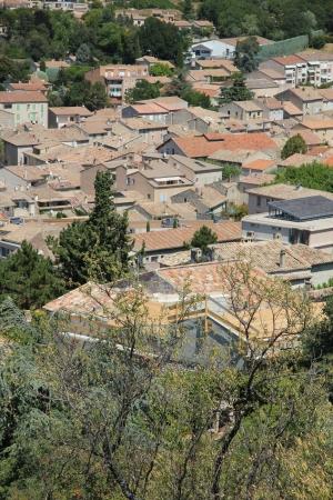 romaine: Vaison la Romaine in the Provence, France