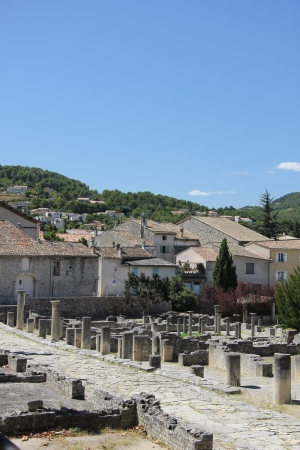 romaine: Roman Ruins in Vaison la Romaine, Provence, France