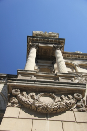 madeleine: Detail of La Madeleine Church in Aix-en-Provence, France Stock Photo