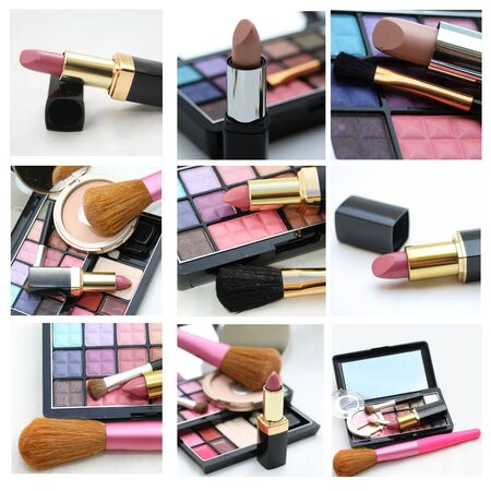 9 different XL images, cosmetics and make up photo