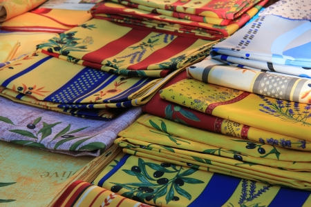 provencal: Traditional Provencal patterns on fabrics