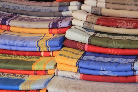 provencal: Tablecloths in traditional Provencal patterns and colors