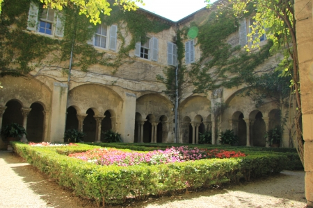 van gogh: saint paul de mausole monastery, saint remy de Provence. The hospital where Vincent Van Gogh stayed