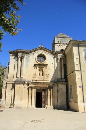 van gogh: saint paul de mausole monastery, saint remy de Provence. The hospital where Vincent Van Gogh stayed