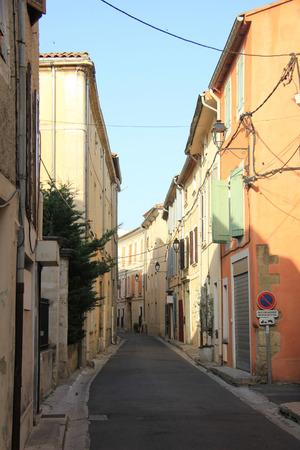 LIsle-sur-la-Sorgue street in the Provence, France photo