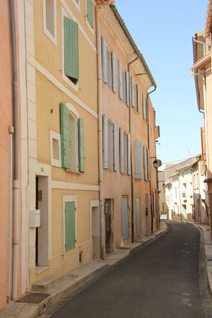 bedoin: Street view of the Village of Bedoin, France