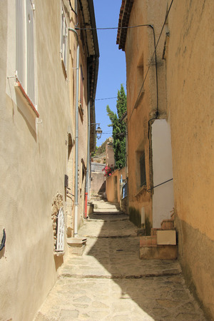 Street view of the Village of Bedoin, France