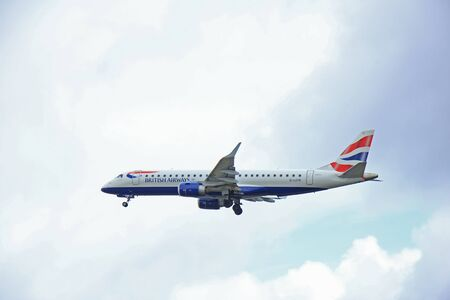ba: March, 27th 2015, Amsterdam Schiphol Airport  G-LCYK BA CityFlyer Embraer ERJ-190  Polderbaan Runway