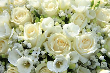 centerpiece: White floral arrangement, wedding centerpiece
