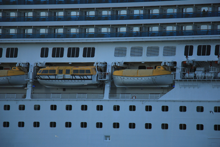 fortuna: Velsen, The Netherlands - June 11, 2015:   Costa Fortuna is a cruise ship, owned and operated by Costa Crociere, built by Fincantieri Marghera shipyard in 2003. Its 273 m (896 ft) long.