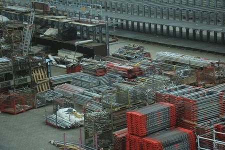 heavy industry: Storage terrain of a big factory, heavy industry