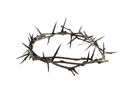 crown background: crown of thorns Stock Photo
