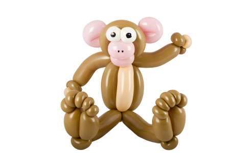 Balloon animal monkey