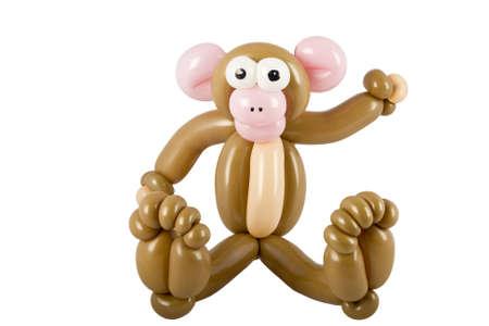 Balloon animal monkey photo