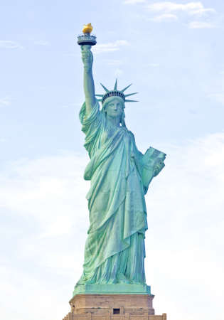 American symbol - Statue of Liberty  New York, USA  photo