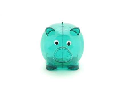 empty green piggy bank Stock Photo - 14812934