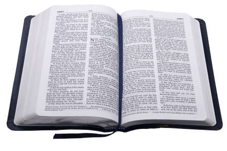 biblia abierta: Abra la biblia