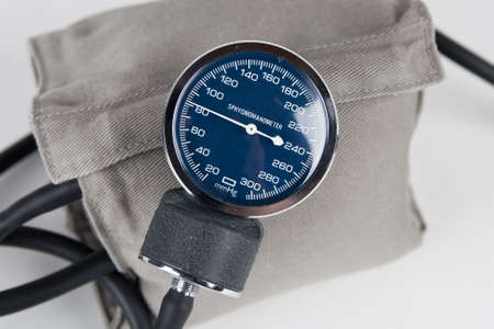 blood pressure monitor or sphygmomanometer, medical device  photo
