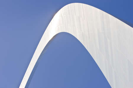 Abstract view of the St  Louis Arch - Gateway to the West  Stock Photo - 14977564