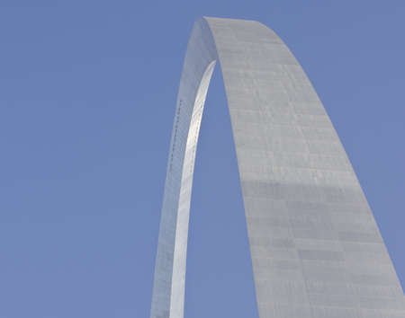 Abstract view of the St  Louis Arch - Gateway to the West  Stock Photo - 14977563