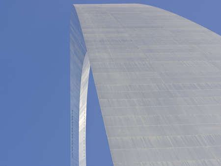 Vista abstracta de la Arch St Louis - Gateway to the West