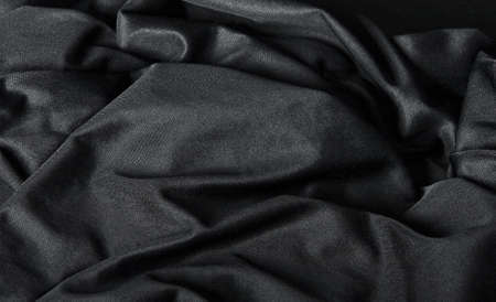 satiny cloth: Black Cloth Background