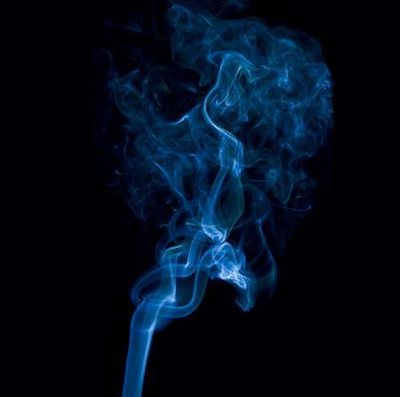 color effect: Blue smoke