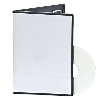 Blank DVD case and disc with room for your text