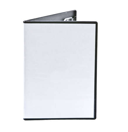 writable: Blank DVD case isolated on white with room for your text