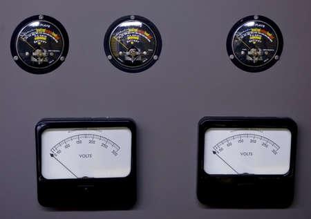old analog electric meters