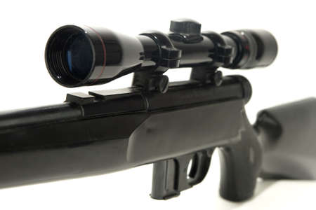 Rifle with scope  Stok Fotoğraf