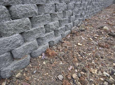 retaining: New Retaining wall