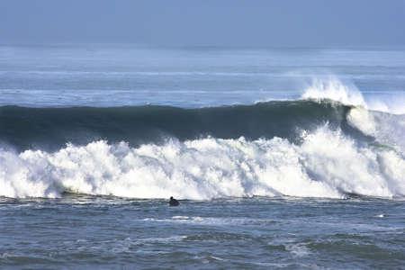 central california: early morning california wave