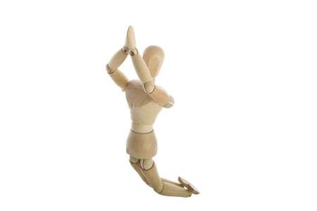 wood figurine: madera tipo buceo