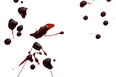 ink spot: blood drops