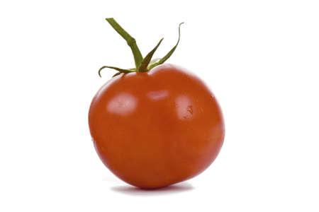 nice food: Красный помидор, изолированных на белом