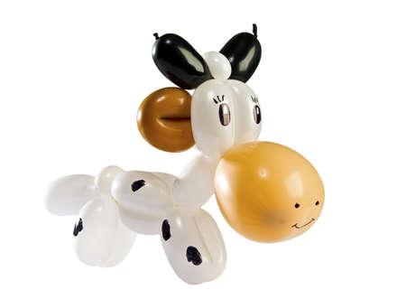 balloon animal cow
