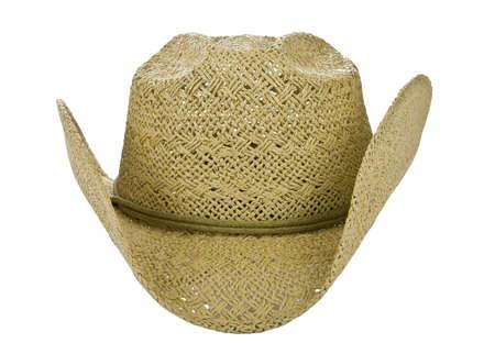 resistol: Paja americano gastado sombrero de vaquero